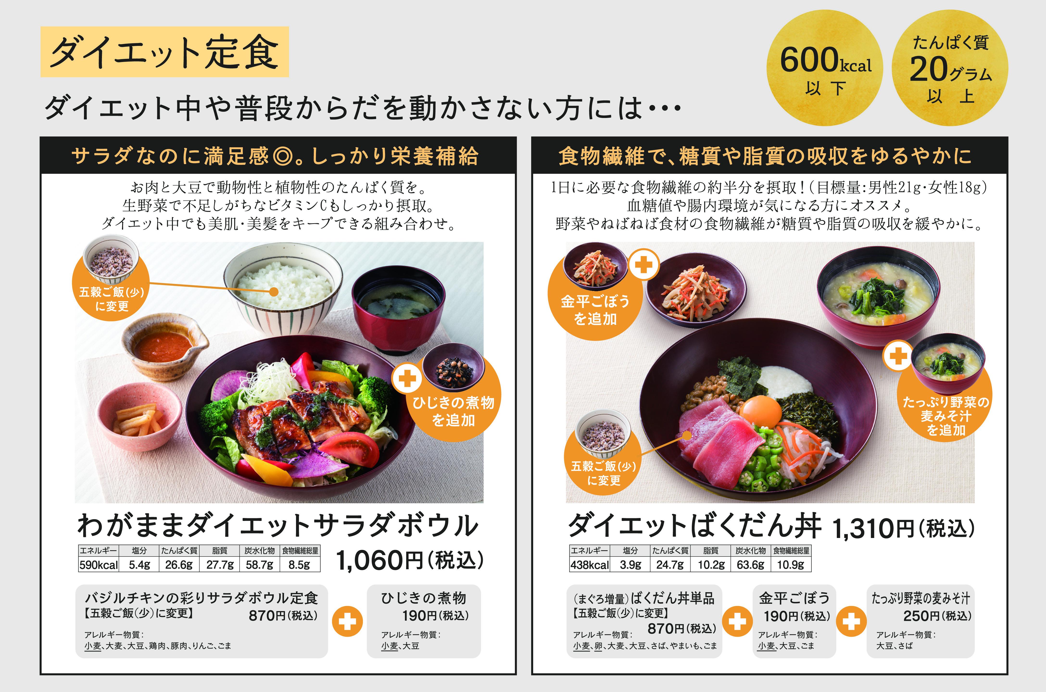『ダイエット定食』